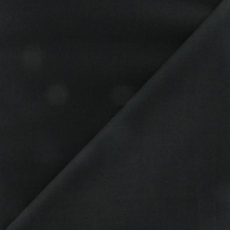 Tissu coton uni Reverie grande largeur (280 cm) noir x 10cm