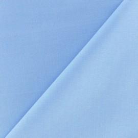Tissu coton uni Reverie grande largeur (280 cm) - pervenche x 10cm