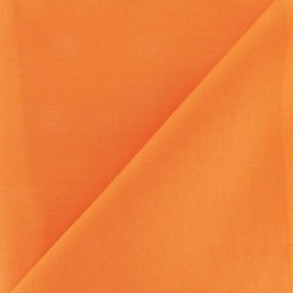 Tissu coton uni Reverie grande largeur (280 cm) orange x 10cm