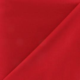 Tissu coton uni Reverie grande largeur (280 cm) bordeaux x 10cm