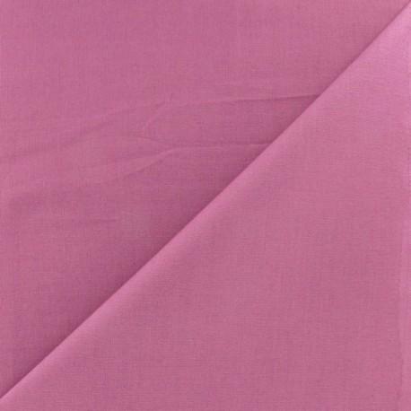 Tissu coton uni Reverie grande largeur (280 cm) lilas x 10cm