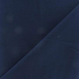Tissu coton uni Reverie grande largeur (280 cm) - marine x 10cm