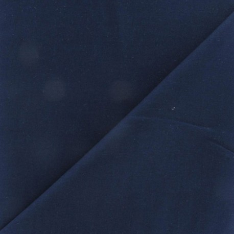 Extra wide cotton fabric Reverie (280 cm) - Navy x 10cm