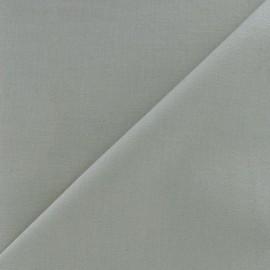 Tissu coton uni Reverie grande largeur (280 cm) perle x 10cm