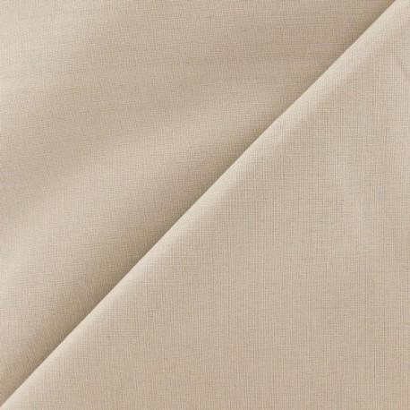Extra wide cotton fabric Reverie (280 cm) - Vanilla x 10cm