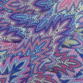 Galon Ajouré Thermocollant Turquoise 30mm x 50cm