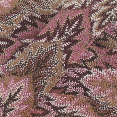 Galon Ajouré Thermocollant Violet 30mm x 50cm