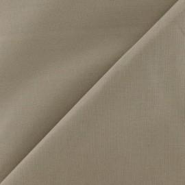Tissu coton uni Reverie grande largeur (280 cm) - vison x 10cm