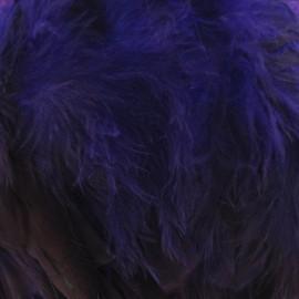 Galon Plume effet nacré fuchsia 10 / 15 cm x 50cm