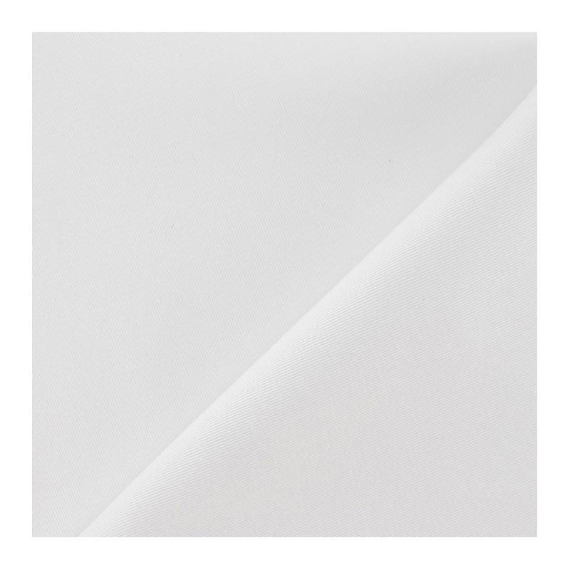 tissu serg de coton couleur blanc mpm. Black Bedroom Furniture Sets. Home Design Ideas