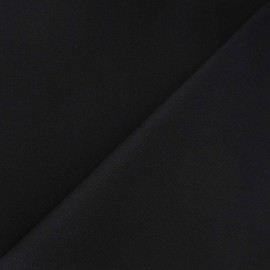 Twill Cotton Fabric – Black x 10cm