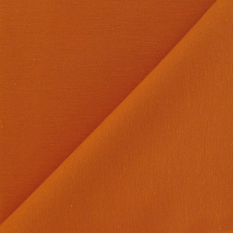 Twill Cotton Fabric - Clementine x 10cm
