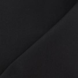 Tissu coton sergé anthracite x 10cm
