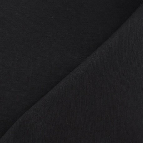 Twill Cotton Fabric - Anthracite x 10cm