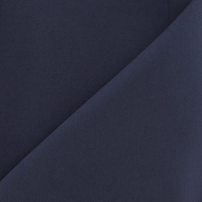 Tissu Sergé de coton couleur denim - MPM e5a11230978