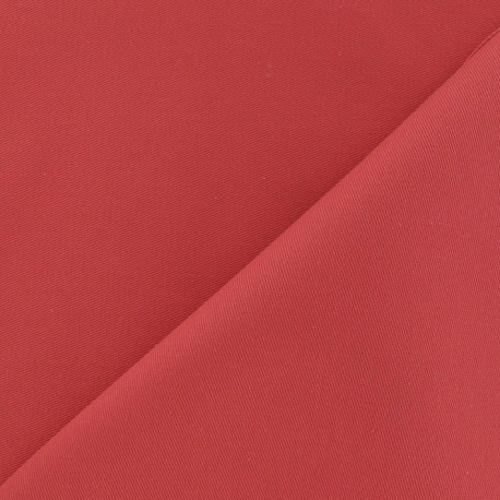 Twill Cotton Fabric - Coral x 10cm