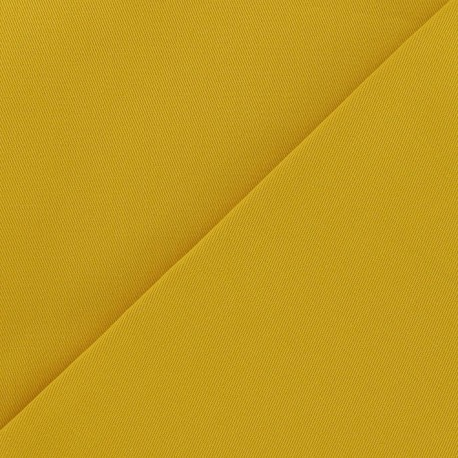 Twill Cotton Fabric - Turmeric x 10cm