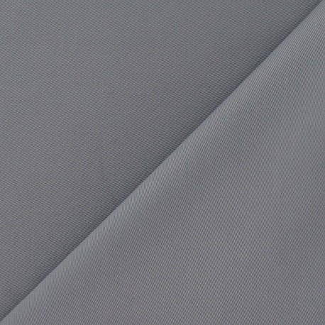 Twill Cotton Fabric ? Mouse grey x 10cm