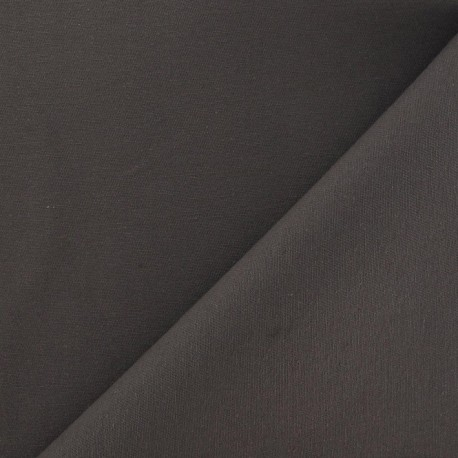 Twill Cotton Fabric ? Gasoil Grey x 10cm