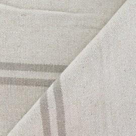 Tissu coton tissé Joséphine ficelle x 10cm
