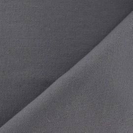 Tissu coton tissé Joséphine acier x 10cm