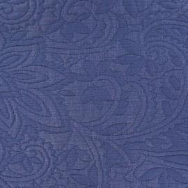 Tissu piqué Forcalquier jean x 10cm