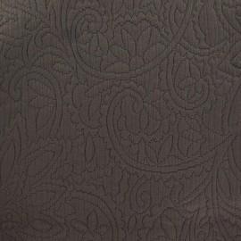 Tissu piqué Forcalquier terre x 10cm