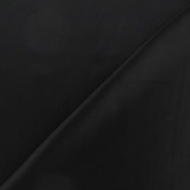 Silk Touch Satin Fabric - black x 50cm