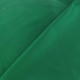 Tissu satin touché soie vert prairie x 50cm
