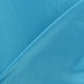 Silk Touch Satin Fabric - turquoise x 50cm