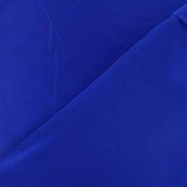 Tissu satin touché soie indigo x 50cm