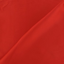 Silk Touch Satin Fabric - red x 50cm
