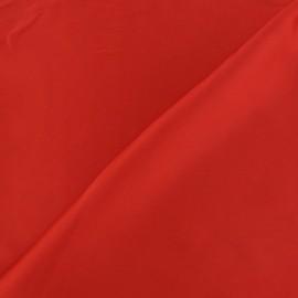 Tissu satin touché soie rouge x 50cm
