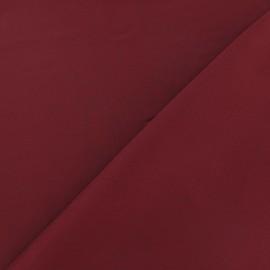 Silk Touch Satin Fabric - bordeaux x 50cm
