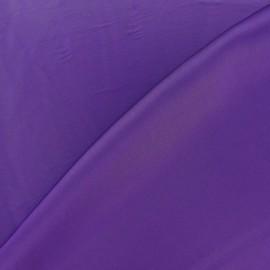 Tissu satin touché soie violet x 50cm