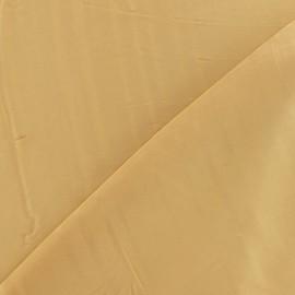 Tissu satin touché soie mordoré x 50cm