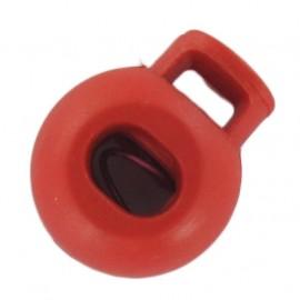 Arrêt cordon boule rouge orangé