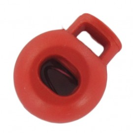 Ball style cord lock - red