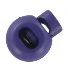 Arrêt cordon boule violet