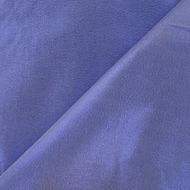 ♥ Coupon 300 cm X 140 cm ♥ Tissu lamé satin bleu roy