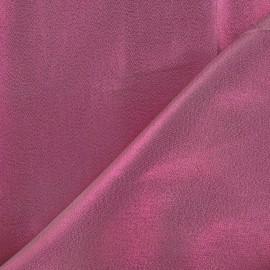 Satin Lamé Fabric - Fuchsia x 10cm