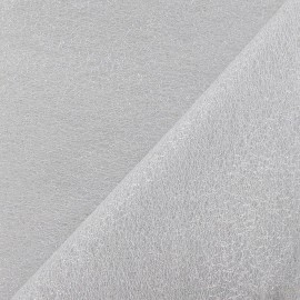 French Tulle - Silver x 1m