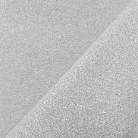 Tulle French argent x 1m