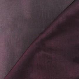 Tissu Organza pourpre x 50cm