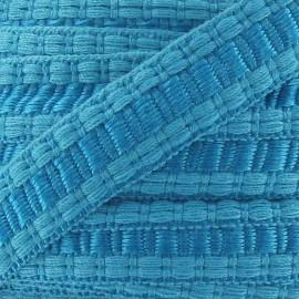 Galon Lézarde cache point Turquoise