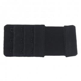 Rallonge soutien gorge Noir 40mm / 3 agrafes