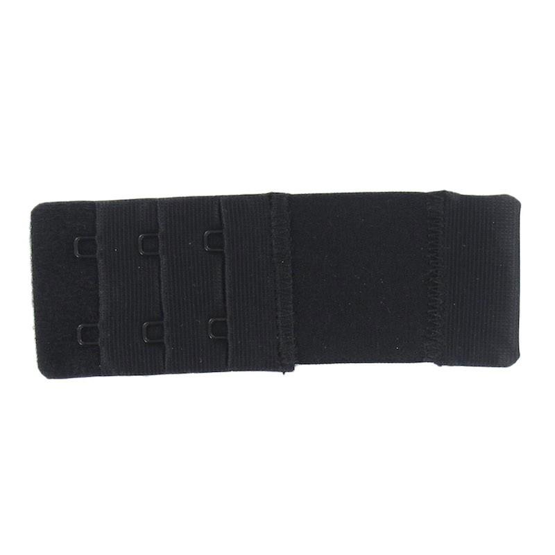 8039ad9d9844c Rallonge soutien gorge Noir 35mm / 2 agrafes