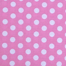 Dots Fabric - Pink x 10cm