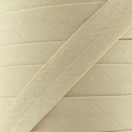 Multi-purpose-fabric bias binding 20 mm - beige