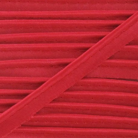 Satiny Piping - Red